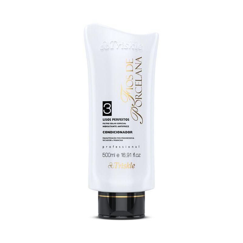 Kit Shampoo e Condicionador Lisos Perfeitos Triskle 500ml