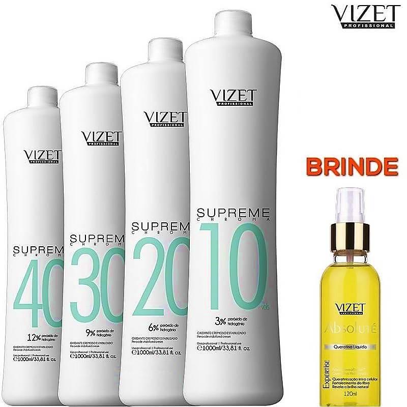 Kit OX Supreme Chroma Vizet Profissional + Queratina Absoluté (Brinde)