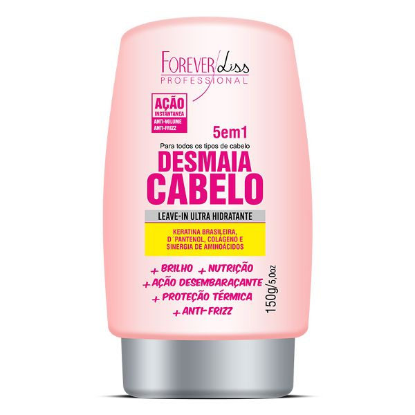 Leave-in Desmaia Cabelo 5 em 1 Forever Liss 150g