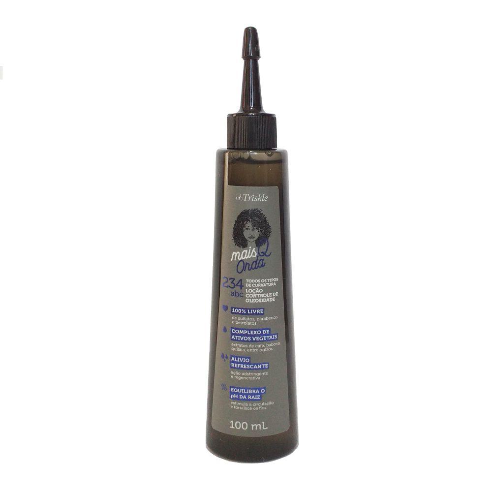 Loção Para Controle da Oleosidade - Mais Q Onda Triskle 100ml
