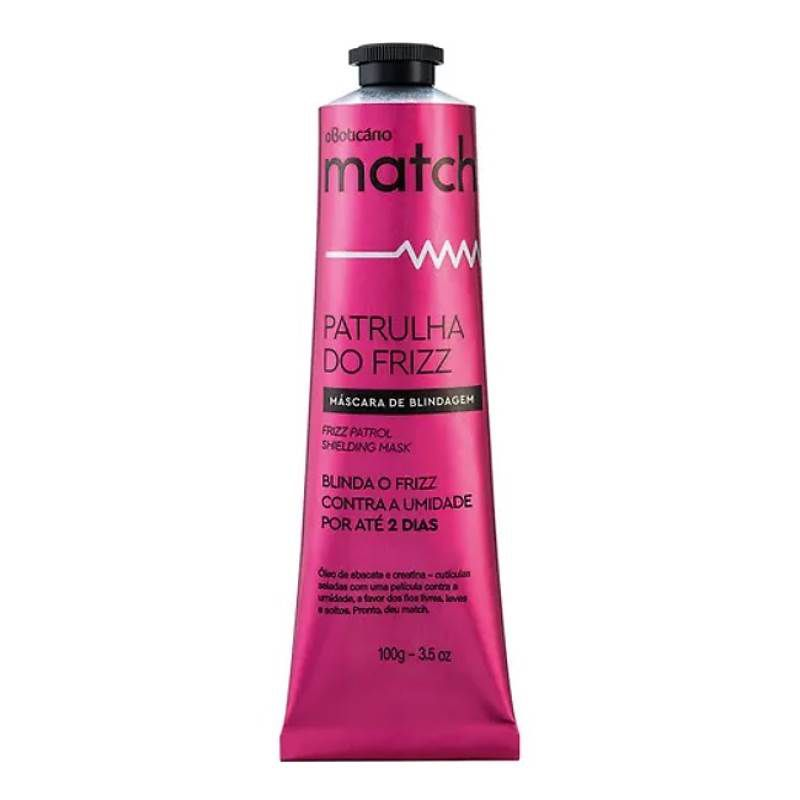 Máscara Capilar Match Patrulha do Frizz 100g