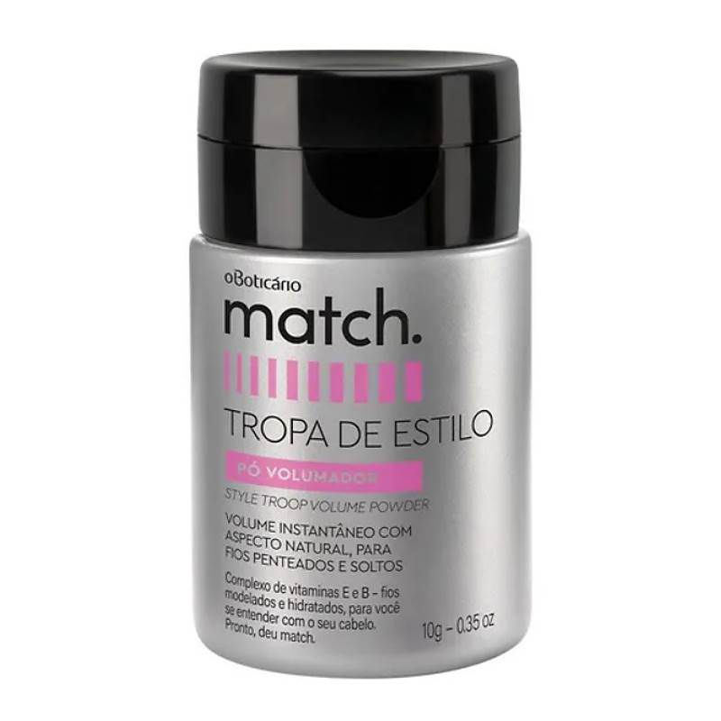 Match Pó Volumador 10g