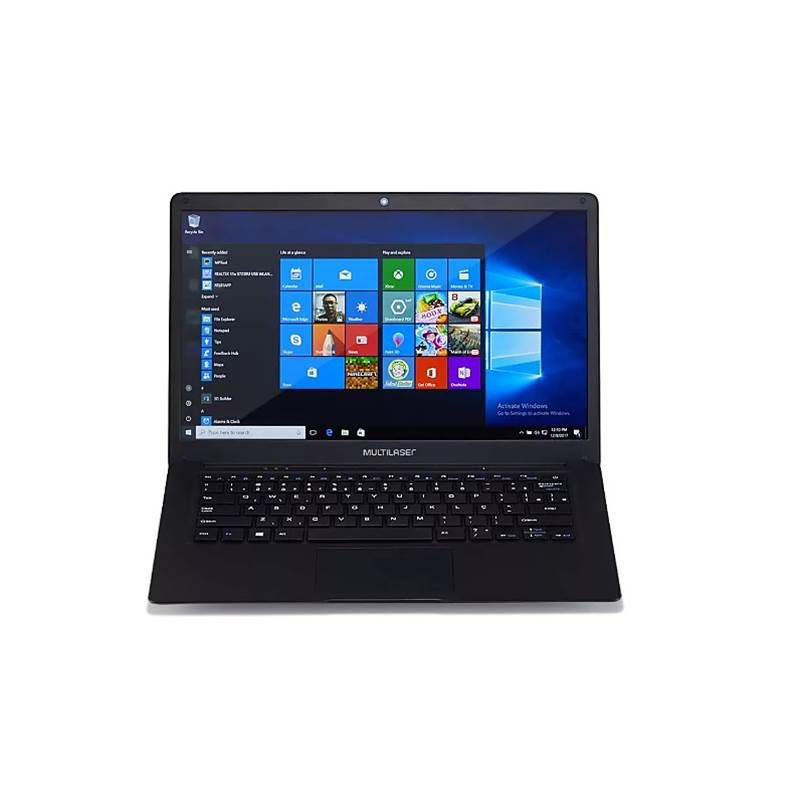 Notebook Legacy Windows 10 4GB + 32GB Tela Full HD 14.1 Pol. Multilaser