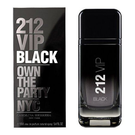 212 VIP Black Masculino Carolina Herrera EDP 100ml