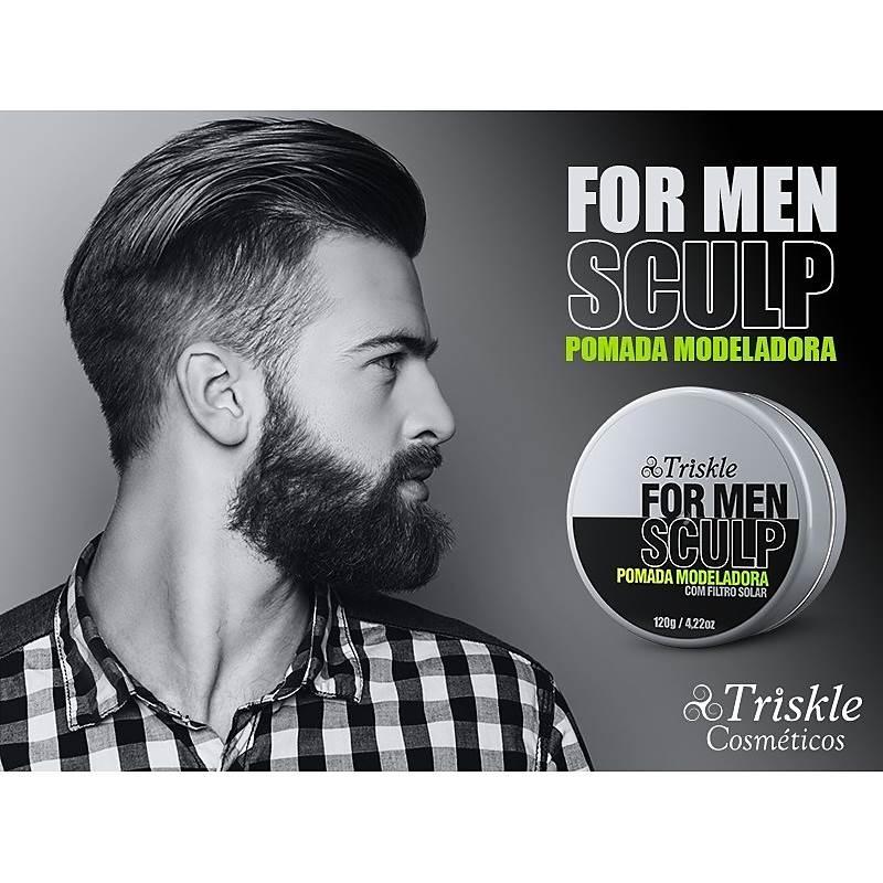 Pomada Modeladora For Men Sculp Triskle 120g