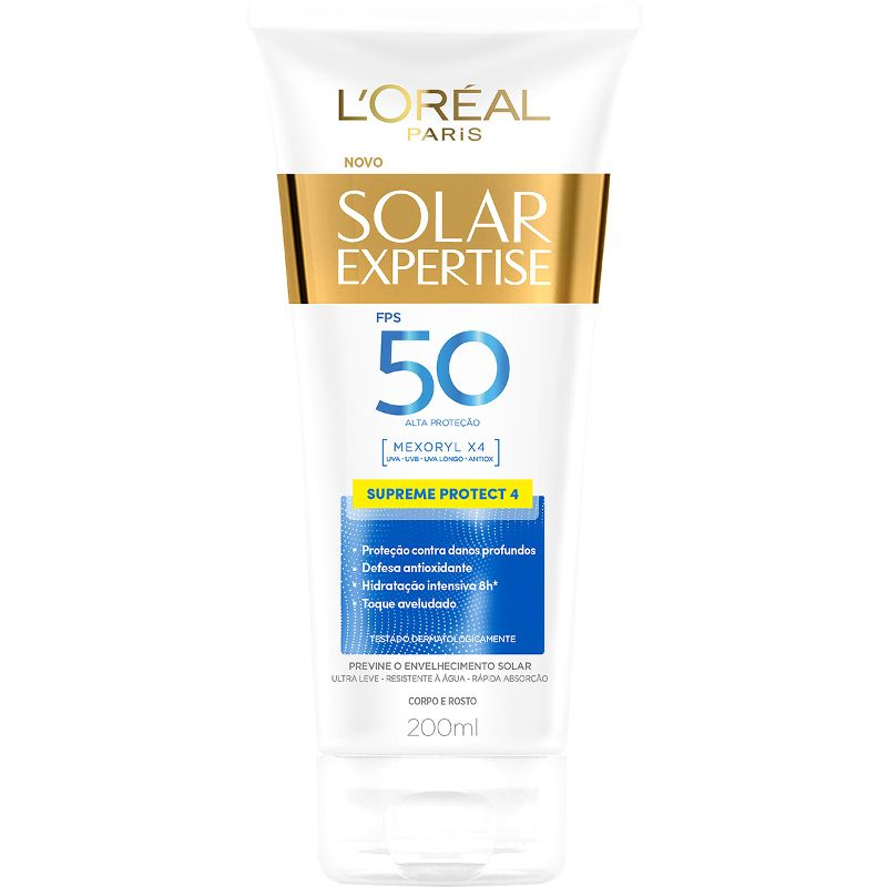 Protetor Solar Expertise Supreme Protect 4 FPS 50 L'Oréal Paris 120ml