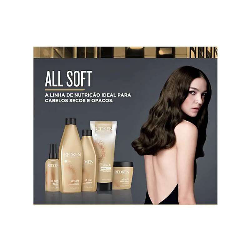 Shampoo All Soft Redken - 500ml