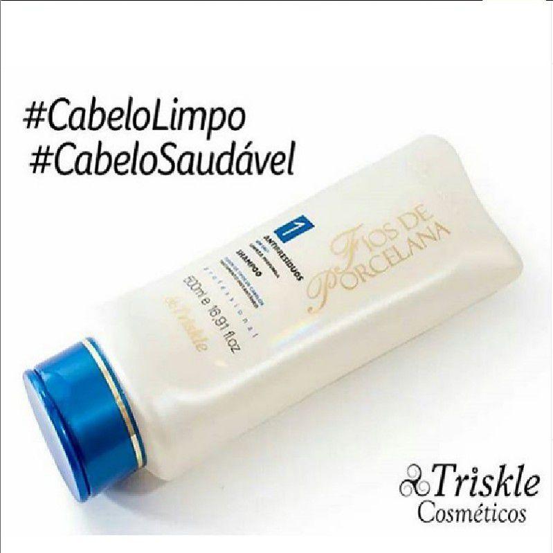 Shampoo Antirresíduos - Fios de Porcelana Triskle 500ml