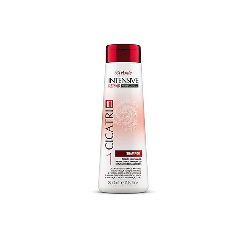 Shampoo Triskle Cicatri10 - Para Cabelos Danificados 350ml