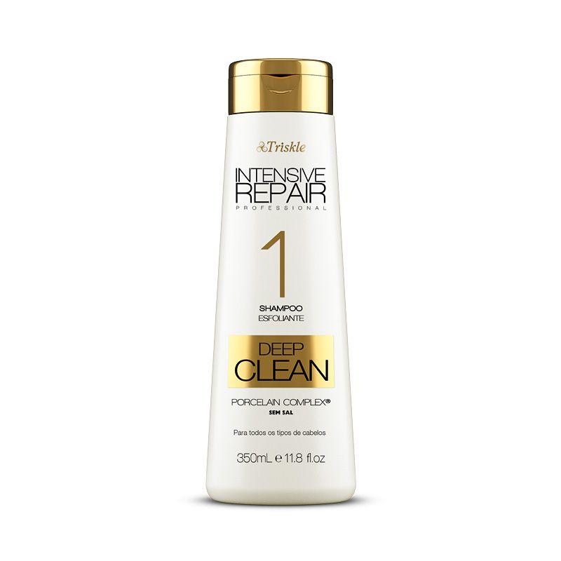 Shampoo Esfoliante Limpeza Profunda Deep Clean Triskle 350ml