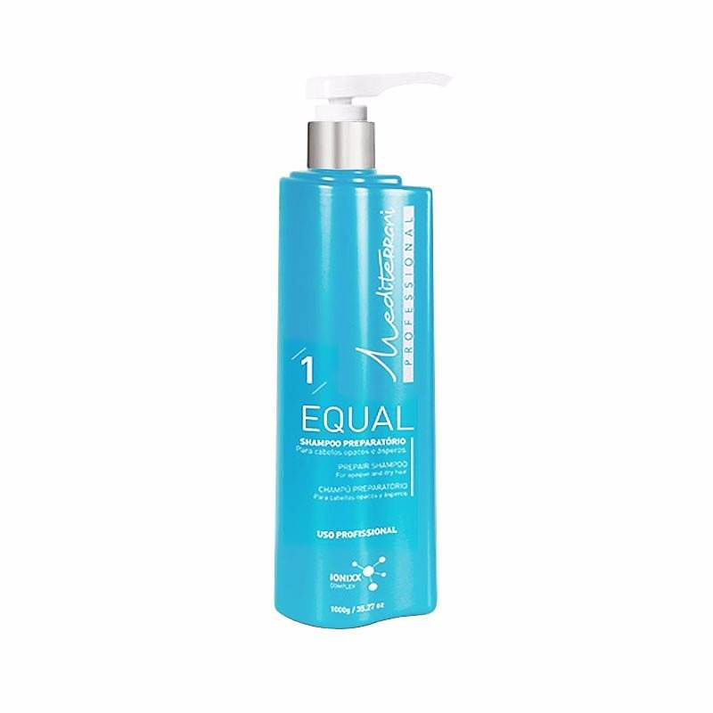 Shampoo Equal Preparatório Mediterrani 1000ml