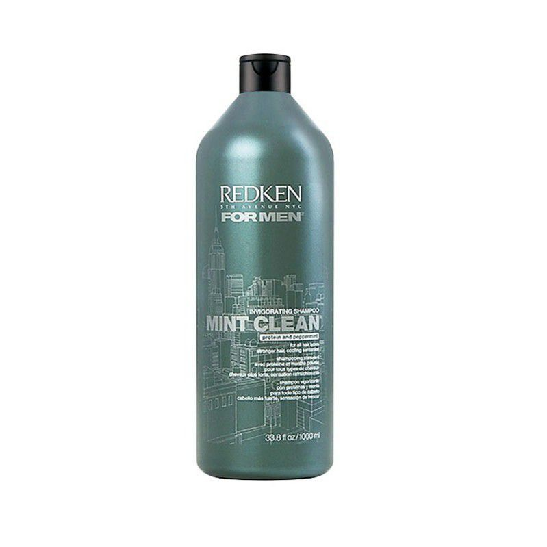 Shampoo for Men Mint Clean Redken  1000ml