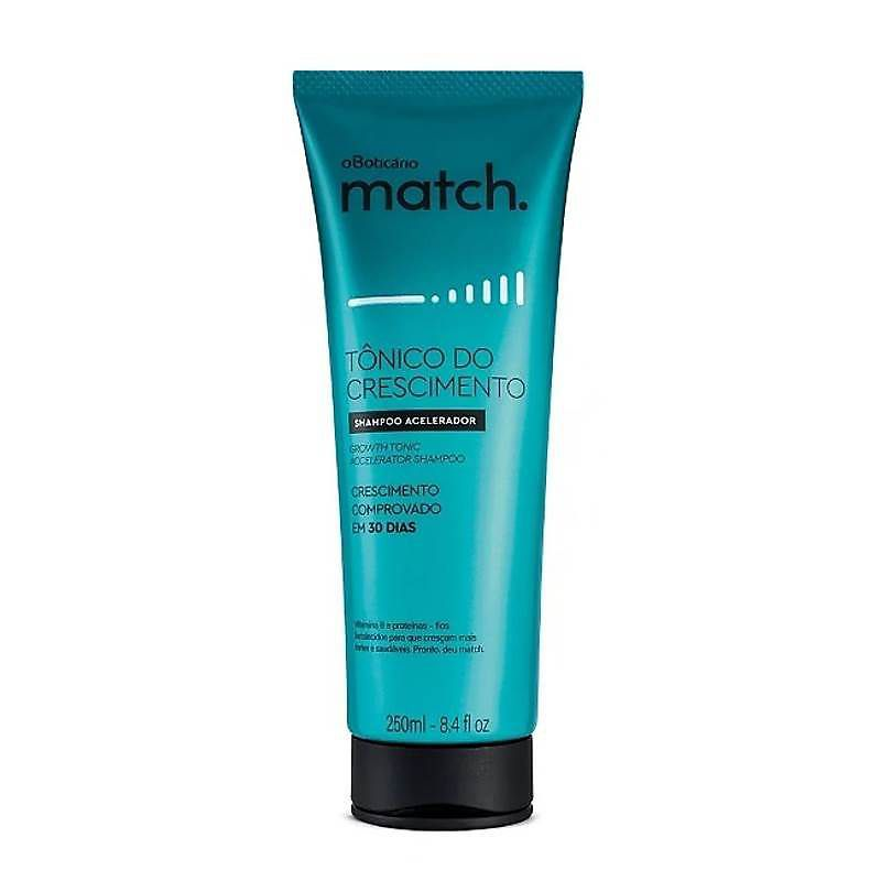 Shampoo Match Tônico do Crescimento 250ml