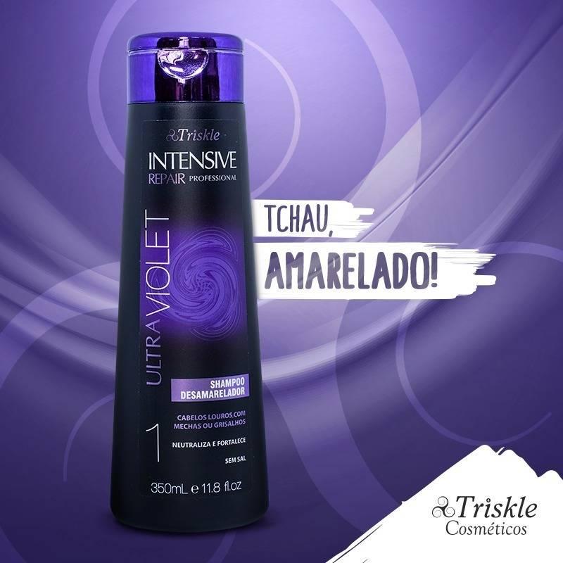 Shampoo Matizante Ultra Violet Triskle 350ml