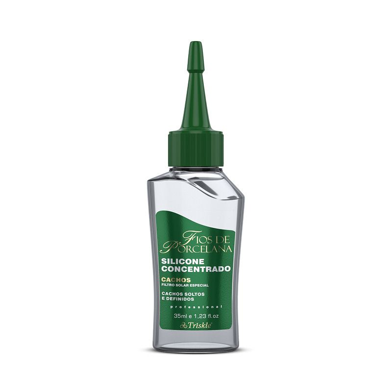 Silicone Capilar Concentrado Cachos - Triskle 35ml