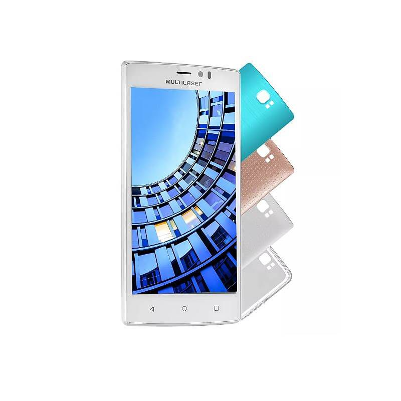 Smartphone Multilaser MS60 4G Tela 5,5 Pol. Dual Chip Android 5 + Micro SD 16GB NB230 | NB231