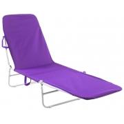 Cadeira Espreguiçadeira Textiline Dobrável