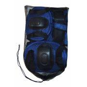 Kit Proteção Infantil Para Rollers E Skates - Azul - G