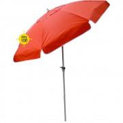 Ombrellone Bagum 2,20 Mt - Articulado Com Manivela - Vermelho