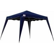 Tenda Gazebo Articulada Praia Camping 3X3 Poliester Dobravel Aluminio Azul