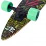 Skate Longboard Mormaii Breeze Rolamento Abec 7 Modelo Folhas