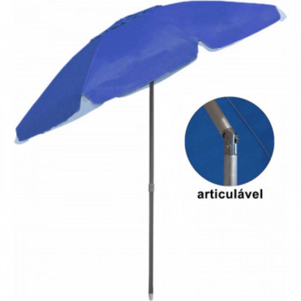 Guarda Sol Articulado Bagum Alumínio Top - Azul