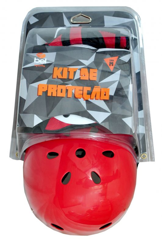 KIT RADICAL PROTECAO C/CAPACETE EPS (M) REDINHA