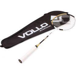 568497cef Raquete De Badminton Vcarbon Com Raqueteira - SportBrink
