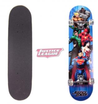 Skate Board Semi-Pro Justice League
