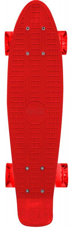 Skate Cruiser De Plástico Coca Cola - Vermelho