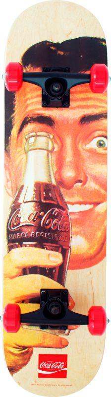 Skateboard Coca Cola - Cara