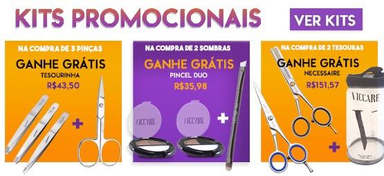 kits design de sobrancelhas viccare