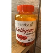 Colageno Hidrolisado 60 Caps de 500mg - MultiNature