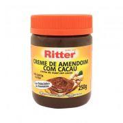 Creme de Amendoim c/ Cacau s/ Glúten 250g RITTER