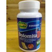 Dolomita  950mg - ( Suplemento mineral a base de Cálcio e Magnésio)- 60 Cápsulas