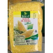 Flocos de Milho p/ Cuscuz 500g- livre d