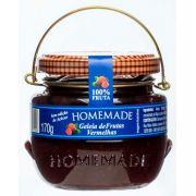 Geléia Hommemade 100% Frutas vermelhas - 170g