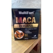 Maca Peruana 60 caps de 350mg - MultiFort