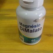 Magnésio Dilamato c/ 60 Cápsulas 500mg  - 4 Elementos