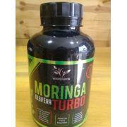 Moringa Oleifera Turbo c/ 120 Cápsulas 500mg - VerdeNatu (Extrato seco de Moringa, Ginkgo Biloba, Ginseng e Tribulus Terrestre).
