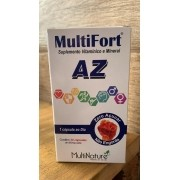 MultiFort de A a Z 30Caps de 500mg - MultiNature
