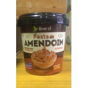 Pasta de Amendoim Integral Granulada Crunchy 1kg - Livre d