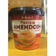 Pasta de Amendoim Integral Natural 1kg - Livre d