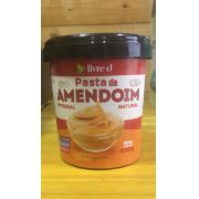 Pasta de Amendoim Integral Natural 400g - Livre d