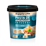 Pasta de Amendoim Natural - SUPPLY LIFE 500g
