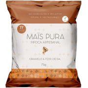 Pipoca Artesanal Caramelo & Flor de Sal - Mais Pura 75g