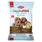 Sequilho de Cacau e Coco Zero Açúcar , sem Gluten 120g - Nazinha