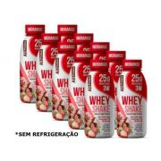 Shake Whey Morango zero açúcar ALL PROTEIN 35g