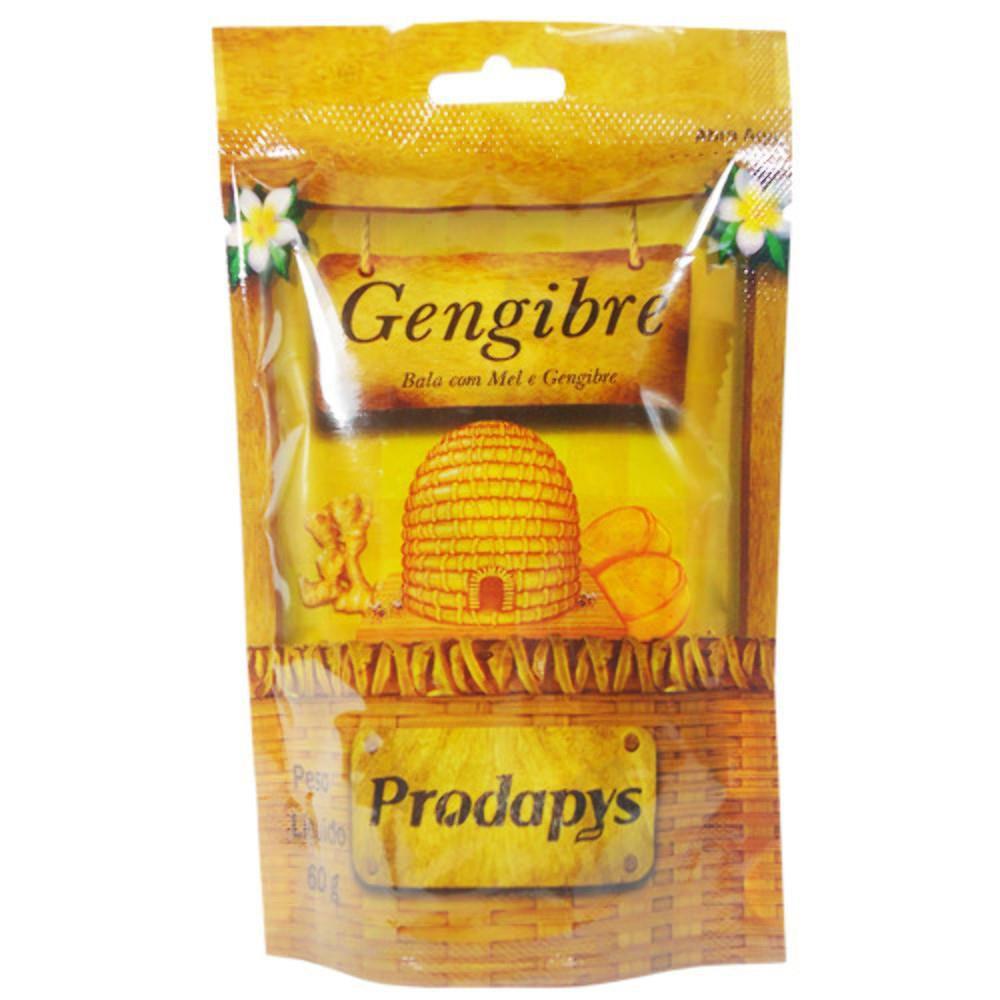 Bala de Gengibre pct com 60g - Prodapys