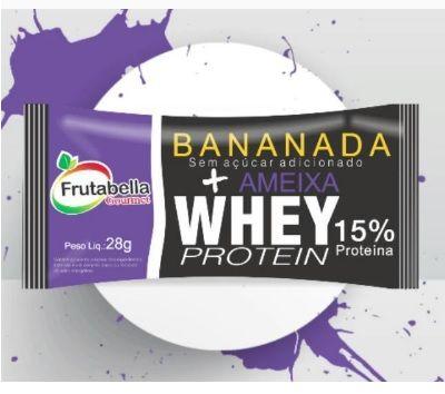 Bananada Ameixa e Whey Frutabella 30g
